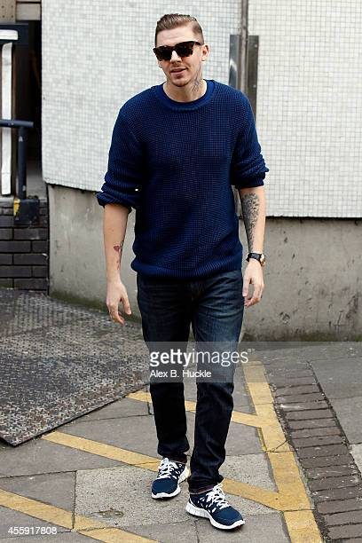 Professor Green seen leaving the ITV Studios after an appearance on 'Loose Women' on September 22 2014 in London England Photo by Alex Huckle/GC...
