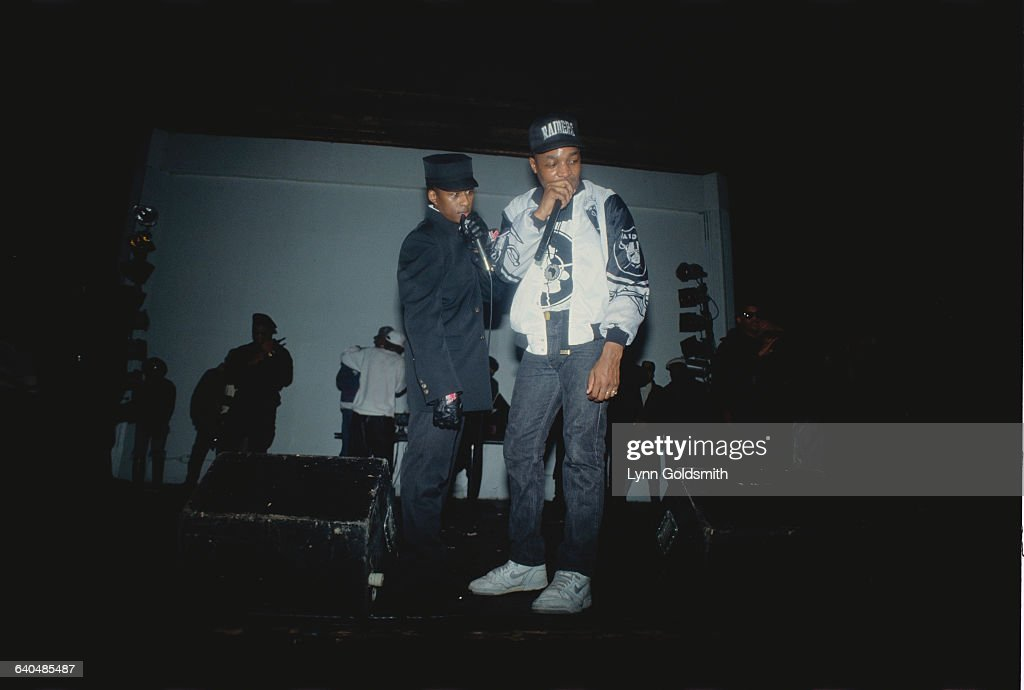 Professor Griff and Chuck D of Public Enemy on Stage
