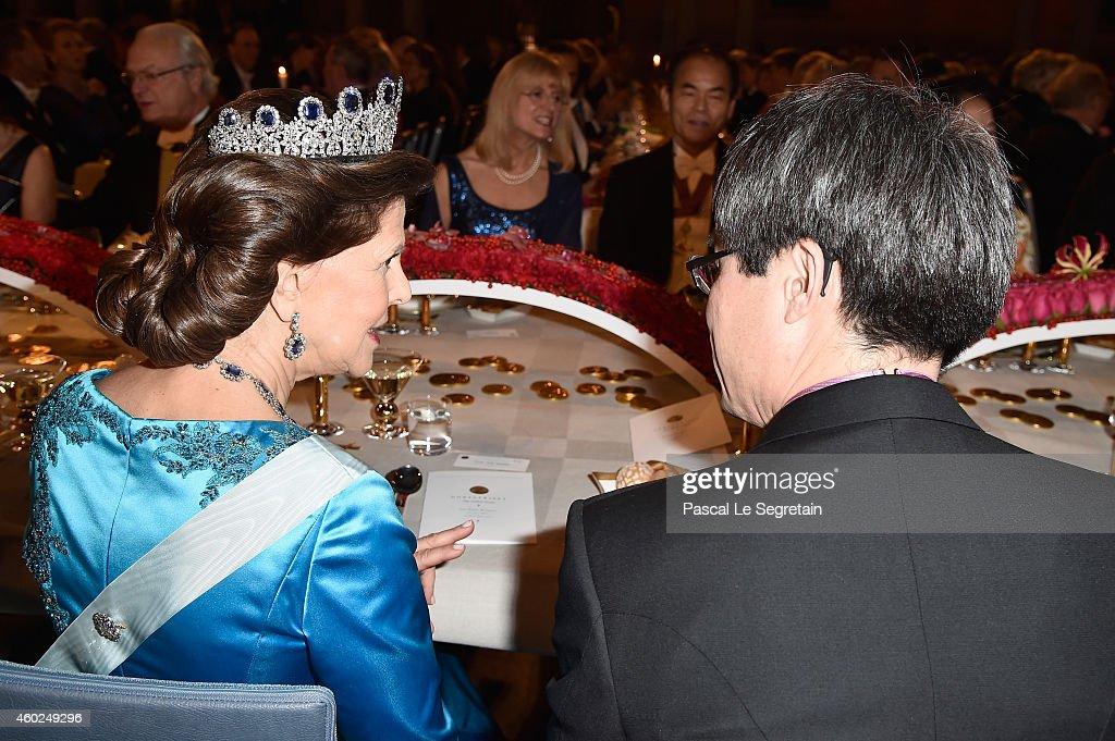 Nobel Prize Banquet 2014, Stockholm : News Photo