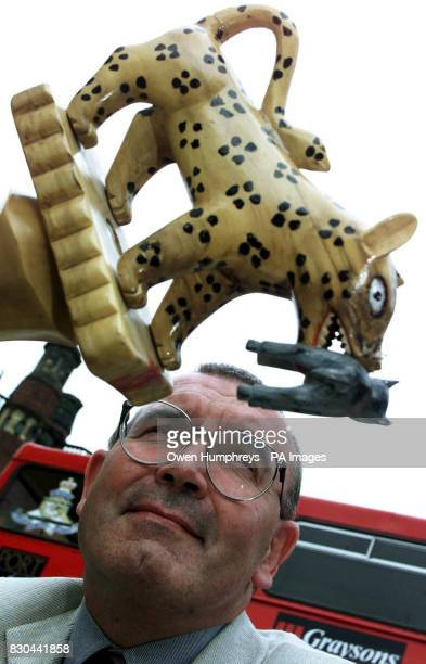 Professor John Knapton outside Newcastle University holding a Ghanaian tribal totem pole The structural engineering professor from Whitley Bay Tyne...