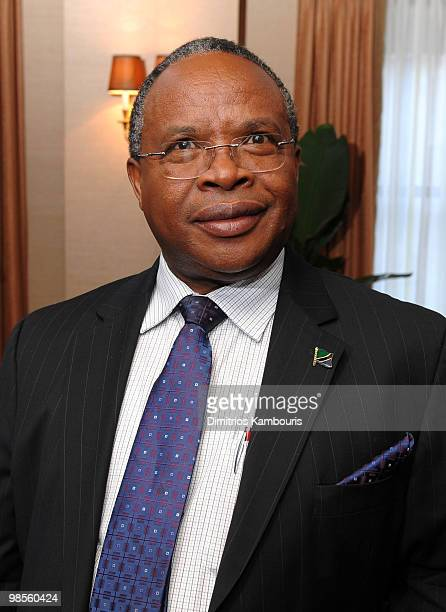 Professor Jumanne Maghembe attends the Tanzania Education Trust New York Gala hosted by President Jakaya Kikwete of the United Republic of Tanzania...