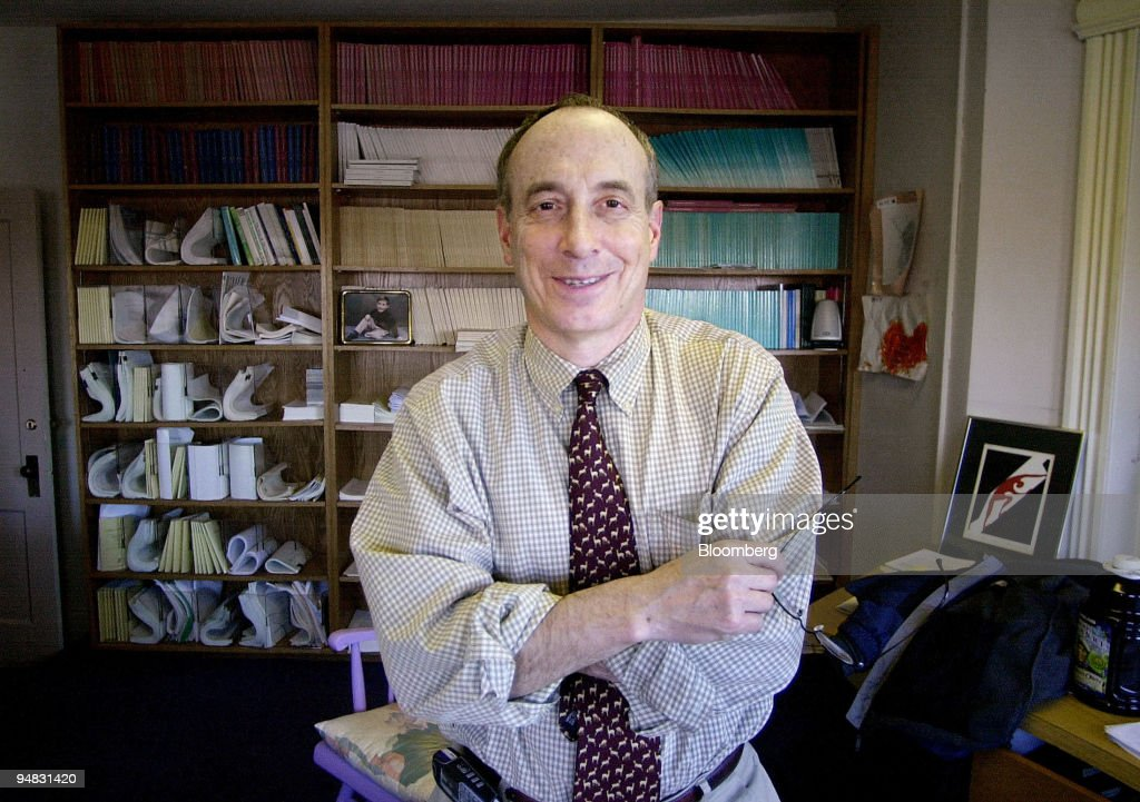 Professor Laurence J. Kotlikoff, head of the Department of E : News Photo