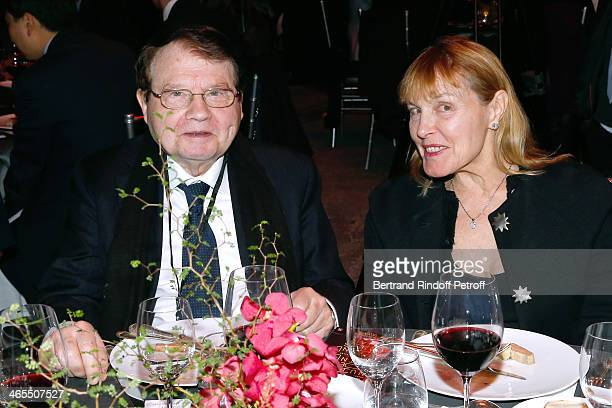 Professor Luc Montagnier and guest attend the 'Nuit De La Chine' Opening Night at Grand Palais on January 27 2014 in Paris France