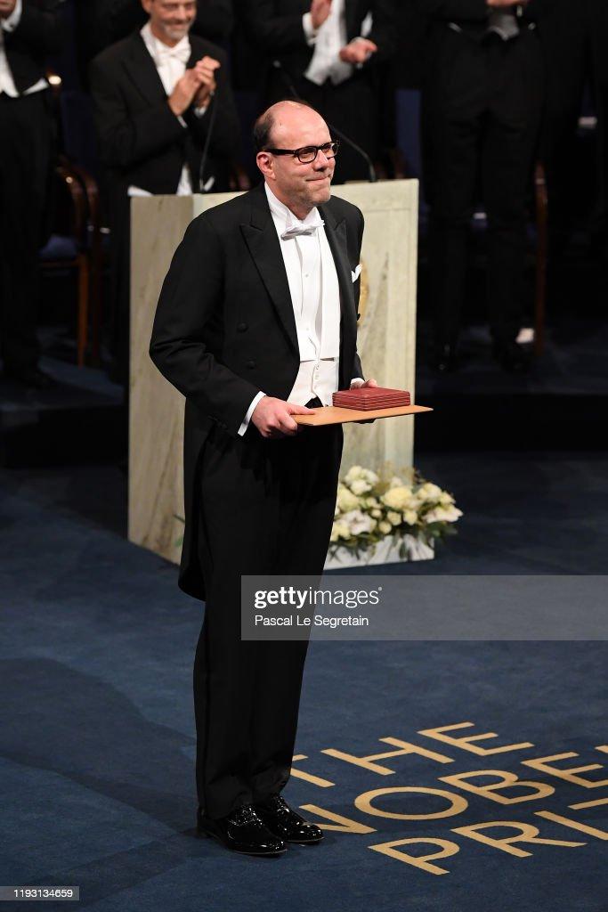 The Nobel Prize Award Ceremony 2019 : ニュース写真