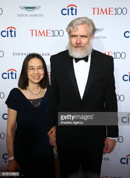 Professor of Genetics Harvard Medical School George Church attends the 2017 TIME 100 Gala at Jazz at Lincoln Center in New York United States on...