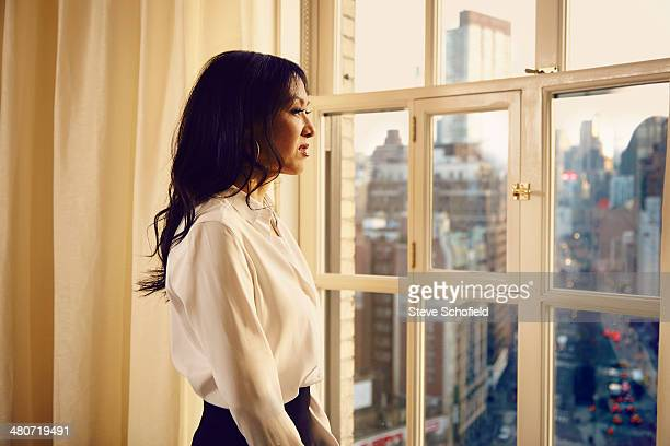 Professor of law and author Amy Chua is photographed for The Observer Magazine on January 17 2014 in New York City Published image