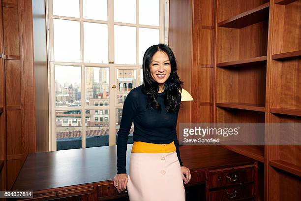 Professor of law and author Amy Chua with her husband Jed Rubenfeld are photographed for the Observer on January 17 2014 in New York City