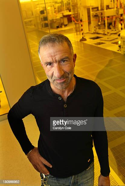 Professor of Nanosciences at SUNY in Albany New York Dr Alain Kaloyeros is photographed for Los Angeles Times on May 14 2011 in Albany New York REDIT...