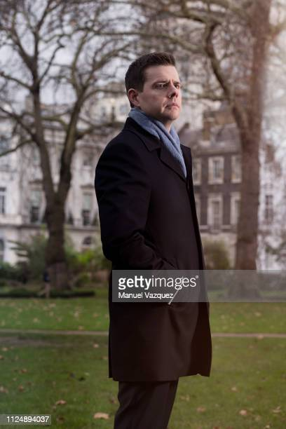 Professor of politics Matthew Goodwin is photographed for the NRC Handelsblad on January 13 2018 in London England