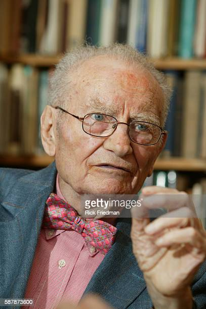 Professor Paul Samuelson, of the Massachusetts Institute of Technology photographed in his office on the MIT campus in Cambridge, MA., on July 11,...