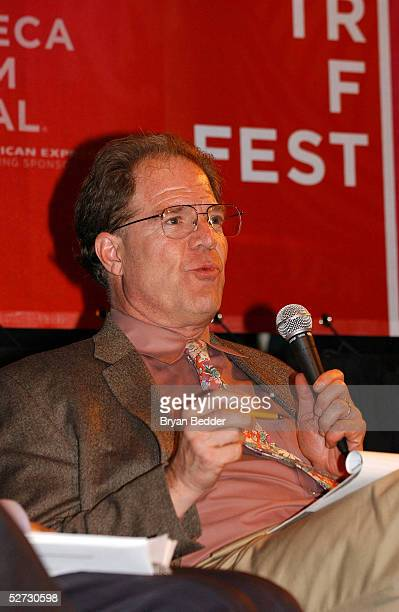 Professor Peter Jaszi attends the Tribeca Film Festival Music Panel At The ASCAP Lounge at Kitting Factory during The Tribeca Film Festival April 28,...