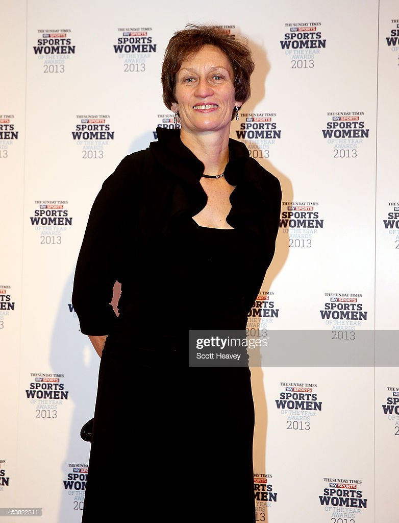Professor Sarah Springman attends The Sunday Times & Sky Sports Sportswomen of the Year awards at Sky on December 5, 2013 in Isleworth, England.