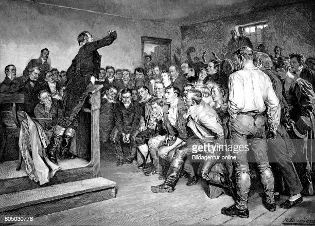 Professor Steffens enthused his listeners for the freedom war in 1812