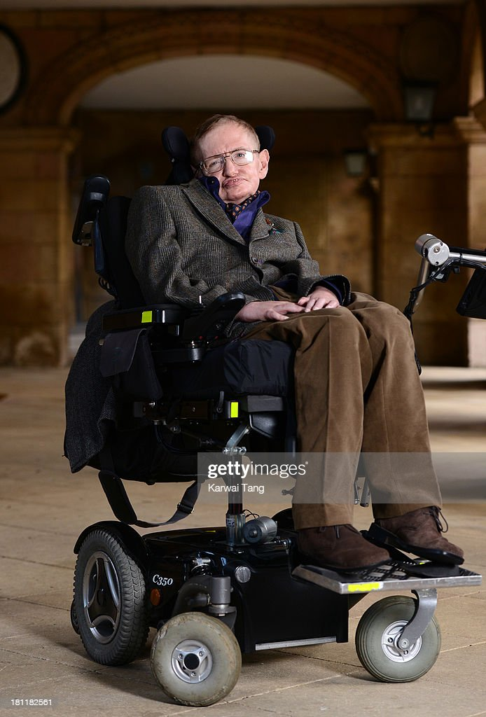 Professor Stephen Hawking attends the gala screening of 'Hawking' on the opening night of the Cambridge Film Festival held at Emmanuel College on September 19, 2013 in Cambridge, Cambridgeshire.