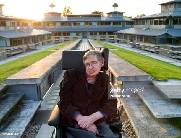 Professor Stephen Hawking British theoretical physicist Photographed at the Centre for Mathematical Sciences University of Cambridge