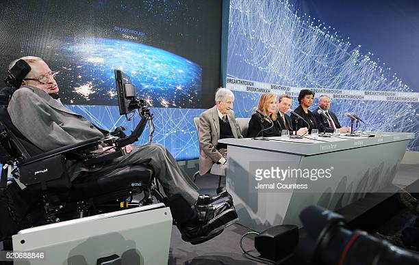 Professor Stephen Hawking Theoretical physicist and Mathematician Freeman Dyson Ann Druyan Theoretical Physicist Avi Loeb Dr Mae Jemison and Dr Pete...