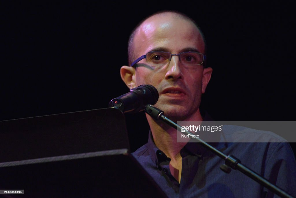 Yuval Noah Harari presents his new book : News Photo