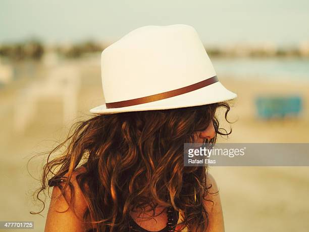 Profile charming woman