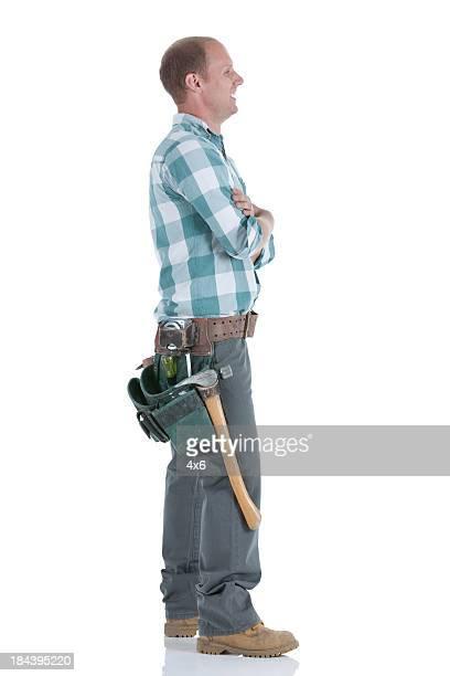 Profile of a carpenter