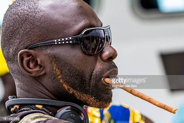 Profile of a man in Senegal