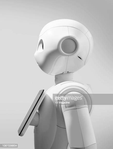 Profile of a Softbank Robotics Pepper robot taken on March 9 2017