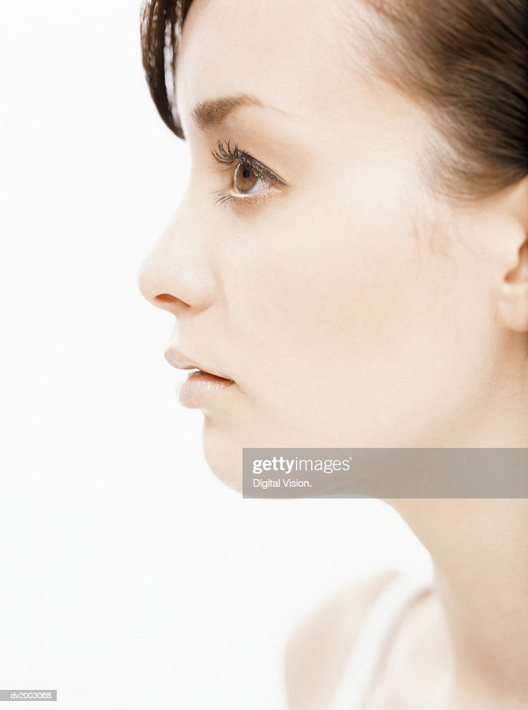 Profile of a Woman : Stock Photo
