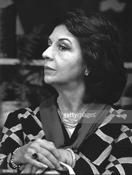 Profile of actress Ruth Ford in a scene from the stage play Any Wednesday''