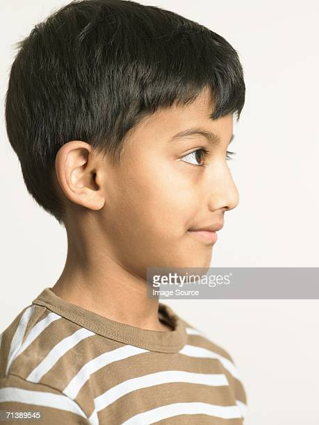 Profile of an indian boy