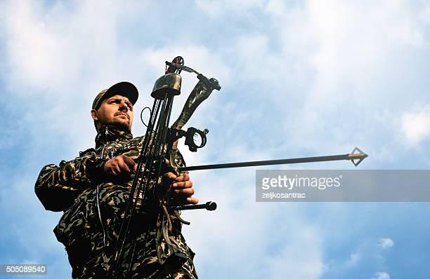Profil de bowman avec Arc et flèche.
