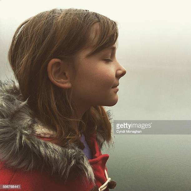 Profile of Girl in the Mist
