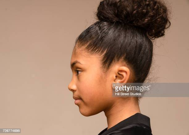 Profile of Mixed Race girl