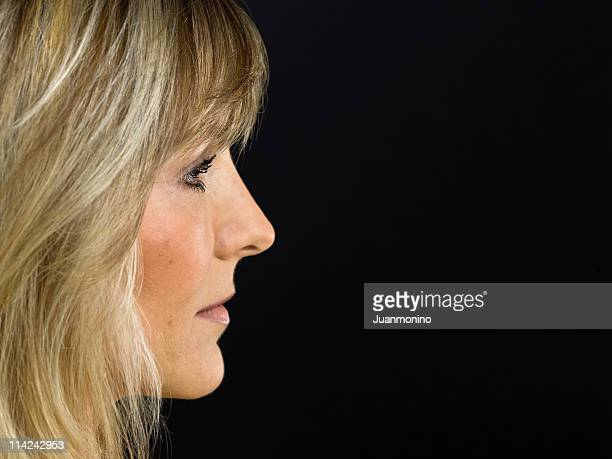 Photo de profil d'une femme en Scandinavie