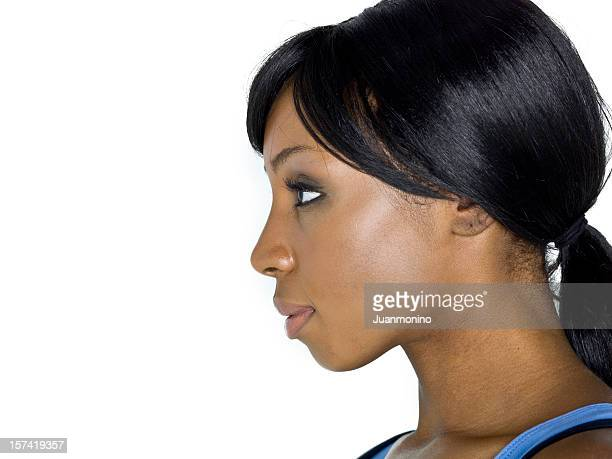 Profile picture of an afro-american woman
