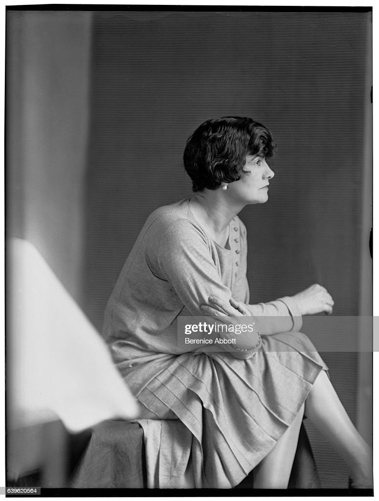 Profile Portrait Of French Fashion Designer Coco Chanel 1920s News Photo Getty Images
