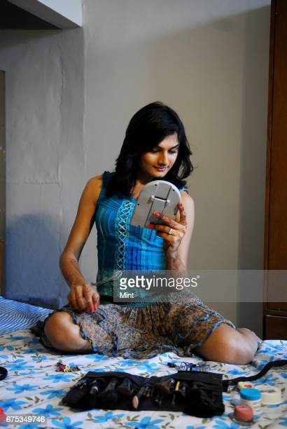 Profile shoot of Anandi Mishra who changed his sex by operation two month ago