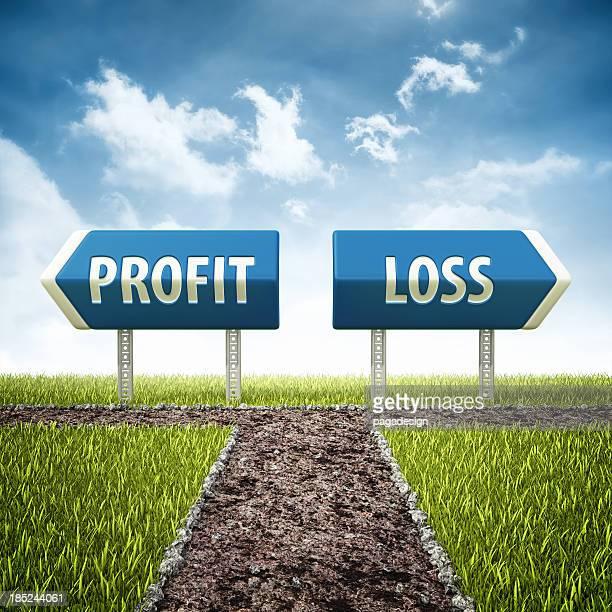profit and loss crossroad
