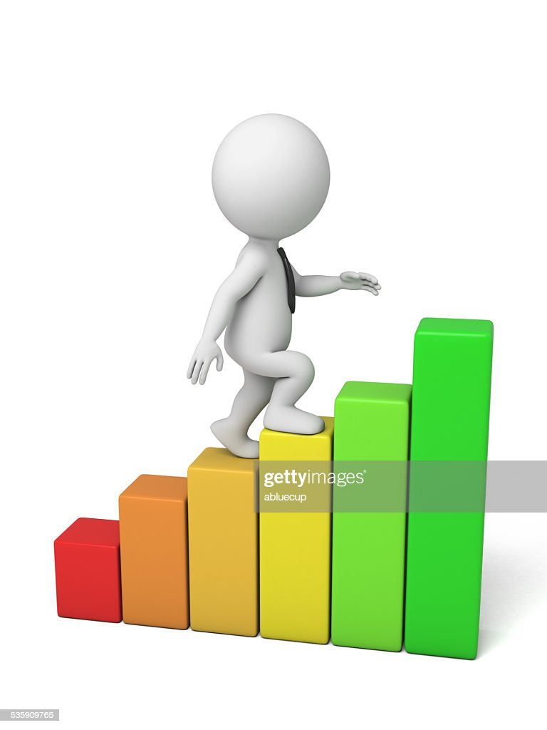 Crescimento de lucro : Foto de stock