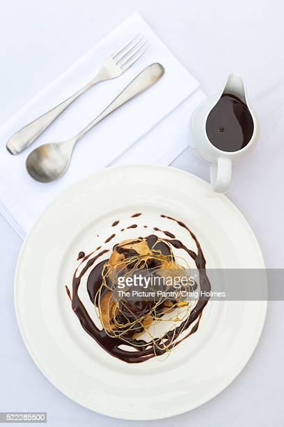 A profiterole, cream puff or choux à la crème.