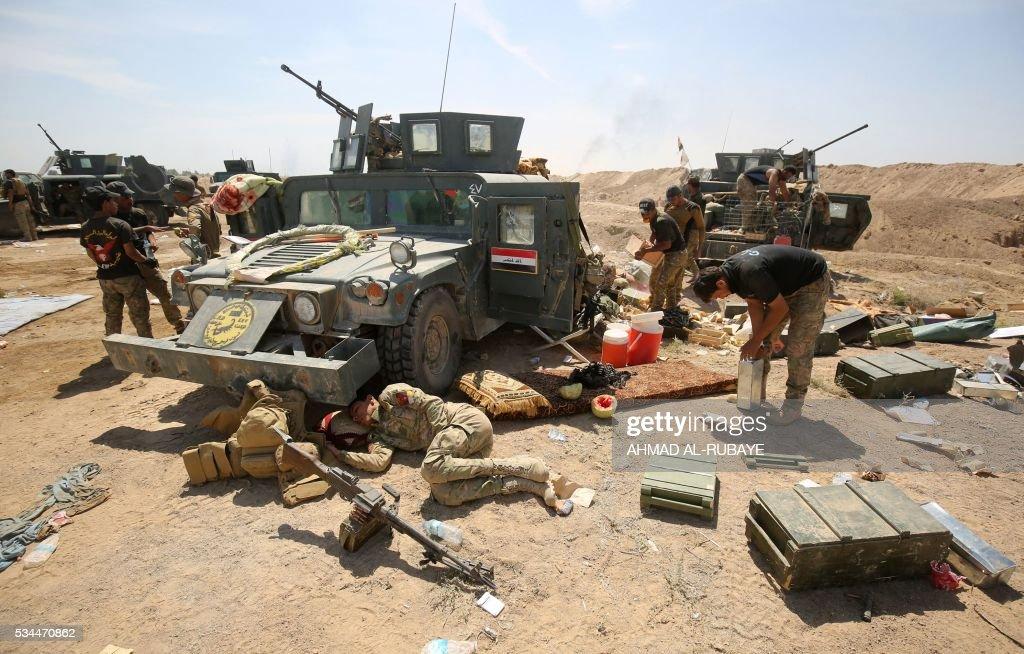 IRAQ-CONFLICT-FALLUJAH : News Photo