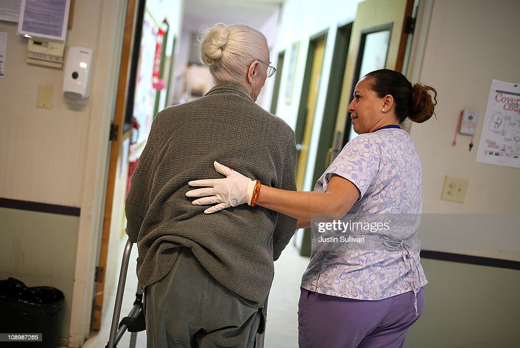 Proposed California Budget Cuts Threaten Adult Day Health Care : News Photo