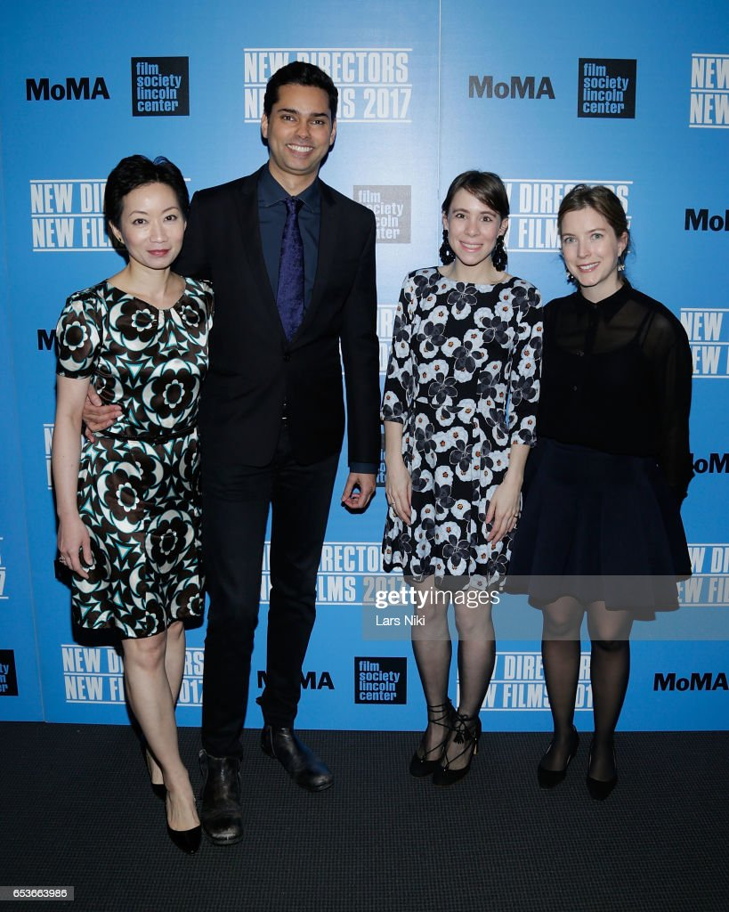 Program Committee Member La Frances Hui, Chief Curator of Film at MOMA Rajendra Roy and Committee Members Sophie Cavoulacos and Izzy Lee attend the New Directors/New Films 2017 Opening Night of PATTI CAKE$ presented by MoMA & Film Society of Lincoln Center at MOMA on March 15, 2017 in New York City.