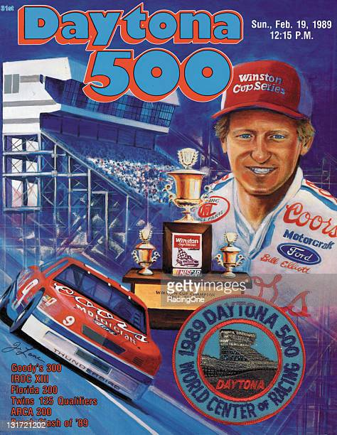 Program cover from the 1989 Daytona 500