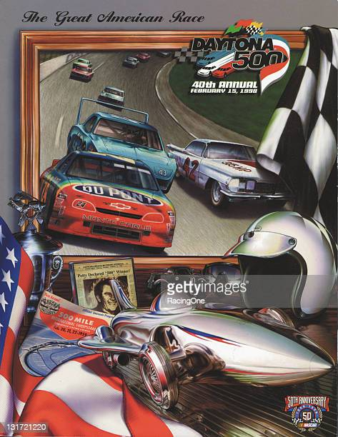 Program cover from the 1998 Daytona 500