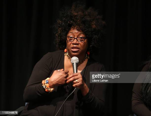 Program Director of Northwest Tap Connection Melba Ayco attends the premiere of Problem at the Landmark Theater on July 02 2019 in Los Angeles...