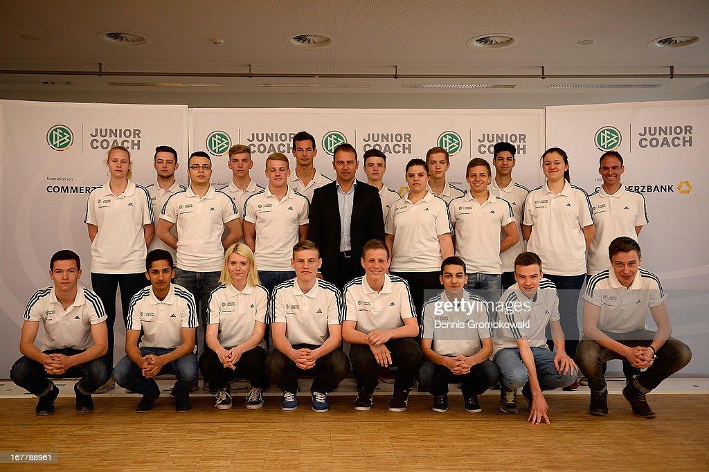 DFB And Commerzbank Launch Junior Coach Program