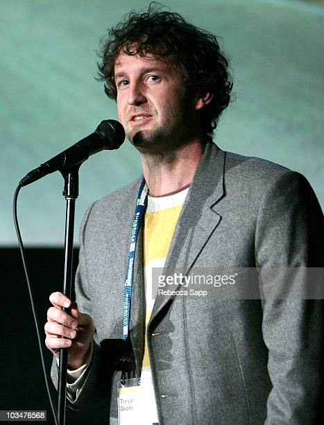 Programmer Trevor Groth attends a screening of Chronic Town during 2008 Sundance Film Festival at Library Center Theatre on January 19 2008 in Park...