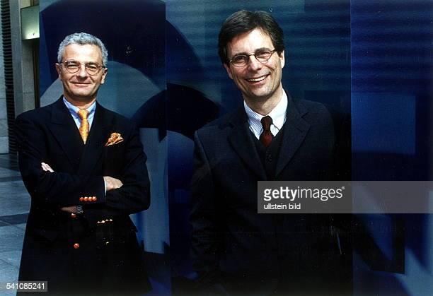 Programmgeschäftsführer von Phoenix, Ereignis- und Dokumentationskanal von ARD und ZDFmit Alexander von Sobeck, ebenfalls Programmgeschäftsführer
