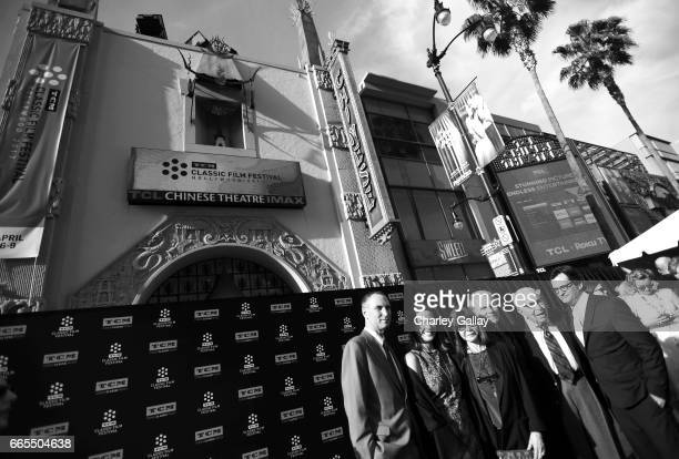 SVP Programming and Production at Turner Classic Movies and FilmStruck Charles Tabesh general manager of Turner Classic Movies Jennifer Dorian actor...