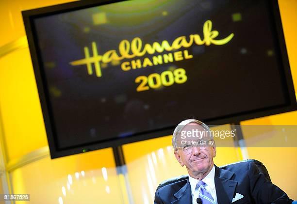 EVP Programming Hallmark Channel David Kenin speaks at the 2008 Summer Television Critics Association Press Tour for Hallmark held at the Beverly...