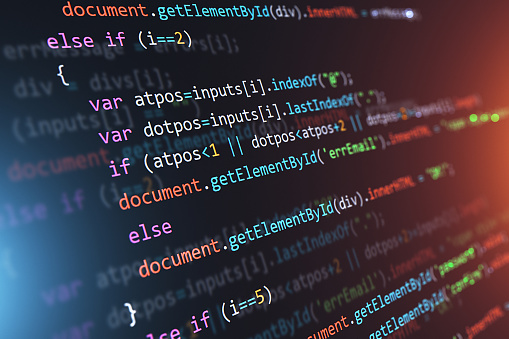 Programming source code abstract background 1047259374